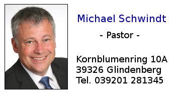 Pastor Michael Schwindt